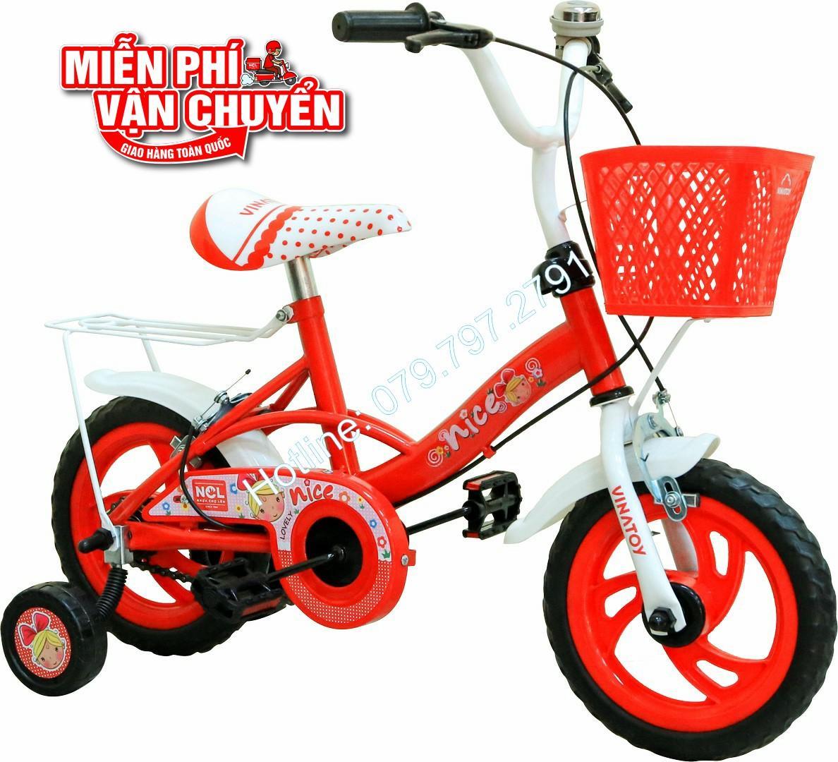 Xe đạp trẻ em Nhựa Chợ Lớn 12 inch K104...