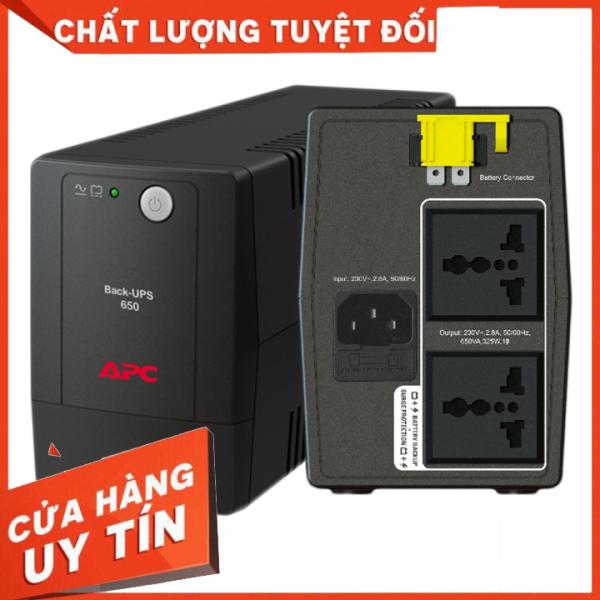 Bảng giá ♻️CHÍNH HÃNG♻️ Bộ Lưu Điện UPS APC BX650LI-MS 650VA/325W (AVR/Universal Sockets), mới 100% Phong Vũ