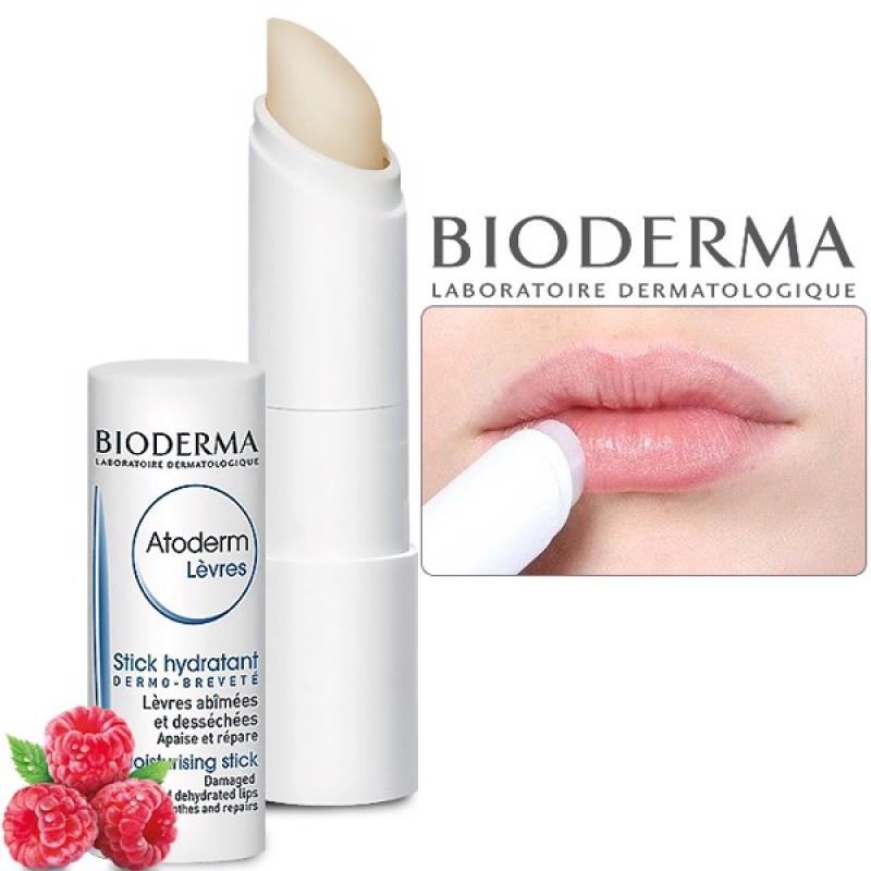 Son Dưỡng Môi BioDerma Atoderm Levres Stick Hydratant 4g