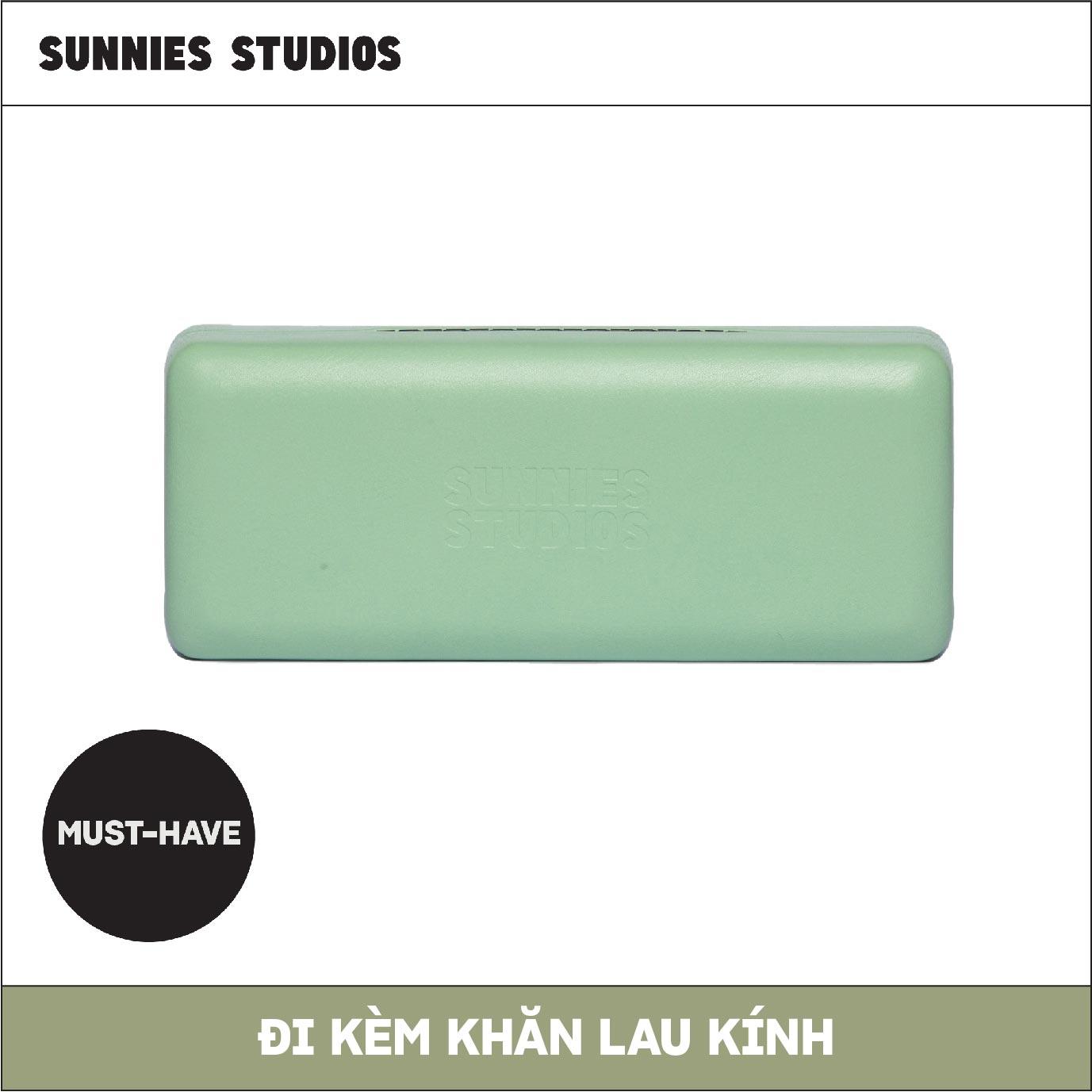 Mua Hộp Kính Xanh Sea Foam Sunnies Studios