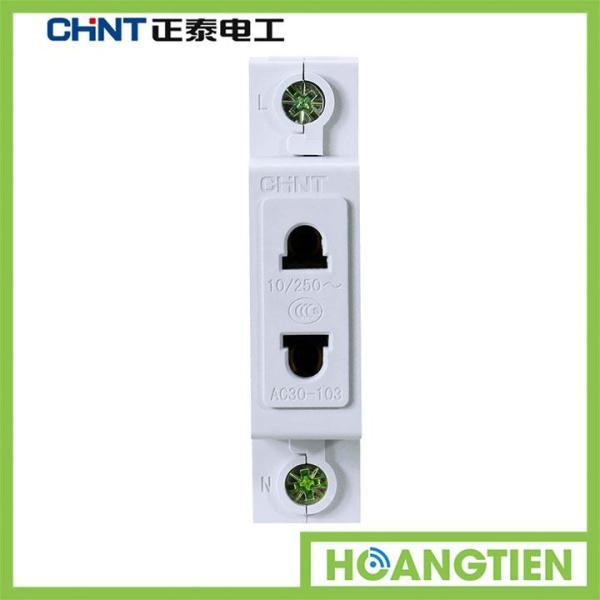 Ổ cắm thanh ray 2 chấu CHINT AC30-103 giá rẻ