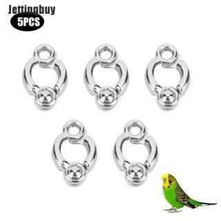 Jettingbuy 5 Cái Parrot Leg Ring Hoạt Động Mắt Cá Chân Vòng Chân Chim Ngoài Trời Huấn Luyện Bay Mới 5 thumbnail