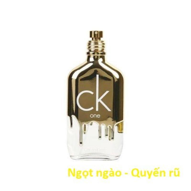 [Tester] Nước hoa Unisex Calvin Klein CK One Gold 100ml Eau De Toilette