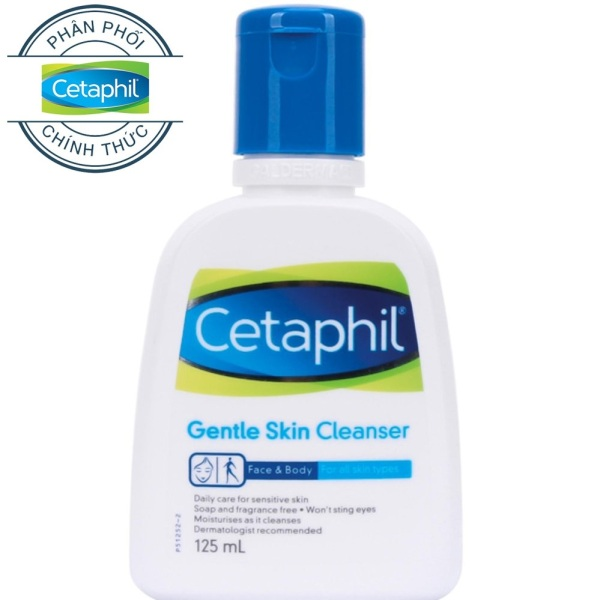Cetaphil Gentle Skin Cleanser - Sữa rửa mặt Cetaphil Gentle Skin Cleanser 125ml cao cấp