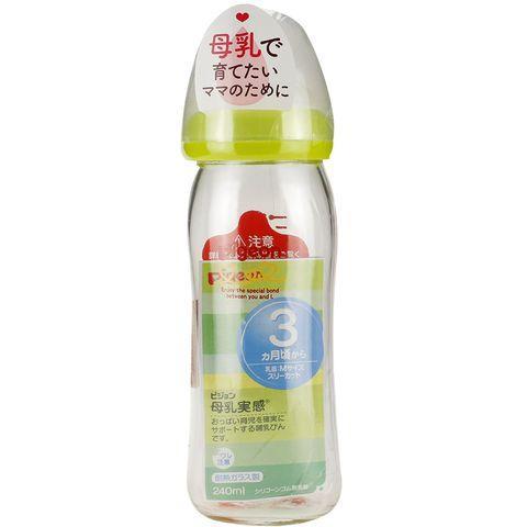 Bình sữa Pigeon Cổ Rộng Nội Địa Nhật 240ml Cho...