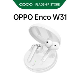 Tai nghe True Wireless OPPO Enco W31 l Bluetooth 5.0 l Phát nhạc 15h - Hội thoại 12h - Sạc 2,5h l Kết nối 10m l Chống bụi & nước IP54 l Siêu nhẹ 50g l HÀNG CHÍNH HÃNG thumbnail