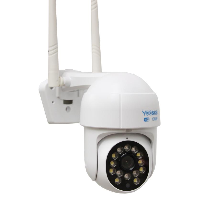 Camera wifi PTZ Yoosee D14S- 14 Led full HD 1080P siêu nét 2MP ngoài trời xoay 360 độ,cảnh báo chống trộm, hỗ trợ lưu trữ thẻ nhớ lên đến 128GB, đàm thoại 2 chiều, bảo hành 12 tháng