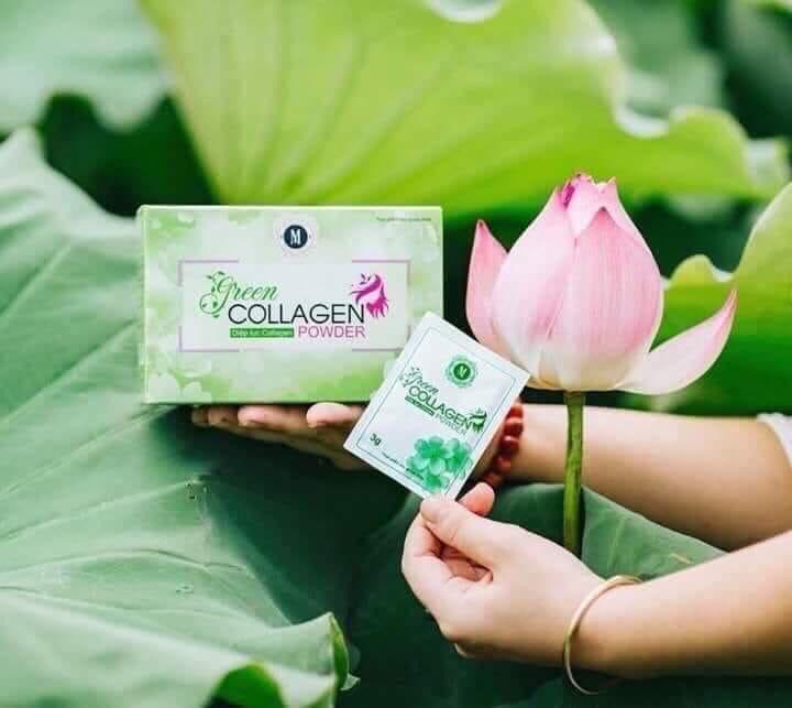Diệp Lục Collagen - Trị Nám - Đẹp Da - Thải Độc