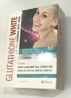 GLUTATHIONE WHITE (hỗ trợ chống oxy hóa) thumbnail