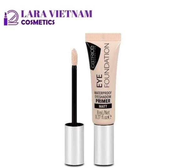 Kem Lót Mắt Catrice Eye Foundation Waterproof Eyeshadow Primer 8ml