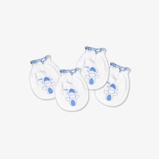 Set 2 đôi bao tay bèo thỏ chó xanh - Miomio - dành cho bé từ 0-24 tháng, chất lượng đảm bảo an toàn đến sức khỏe người sử dụng, cam kết hàng đúng mô tả