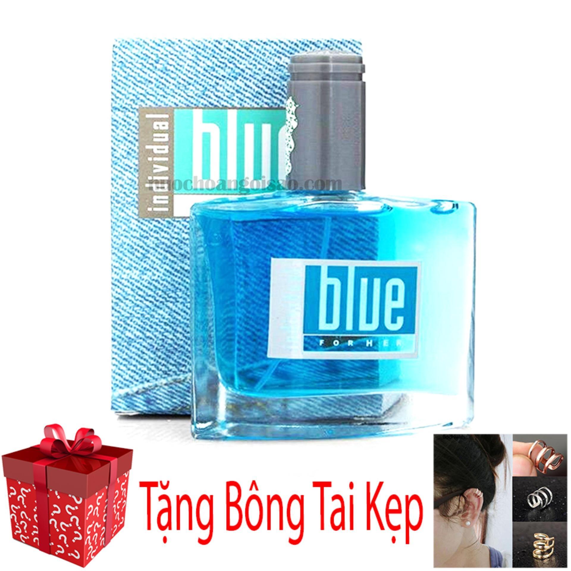 [Số Lượng Giới Hạn] Nước Hoa Nam Avon Blue For Him 50ml + Tặng Bông Tai Kẹp