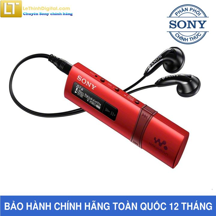 Mã Giảm Giá tại Lazada cho Máy Nghe Nhạc Sony Walkman NWZ-B183F (Đỏ)-Hãng Phân Phối