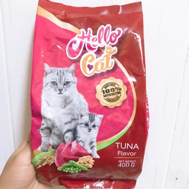 Hạt cho mèo hello cat gói 400g, đa dạng mẫu mã, chất lượng sản phẩm đảm bảo và cam kết hàng đúng như mô tả