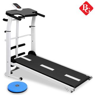 (ẢNH THẬT VÀ VIDEO).GYM - Máy chạy bộ cơ đa năng mẫu mới Treadmill SH - S306 5 in 1 tặng kèm 1 đĩa xoay eo cao cấp siêu đẹp mẫu mới 2020 thumbnail