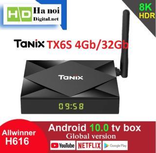 Android TV Box TX6 Ram 4Gb Rom 32Gb Android 10 - Hàng Chính Hãng