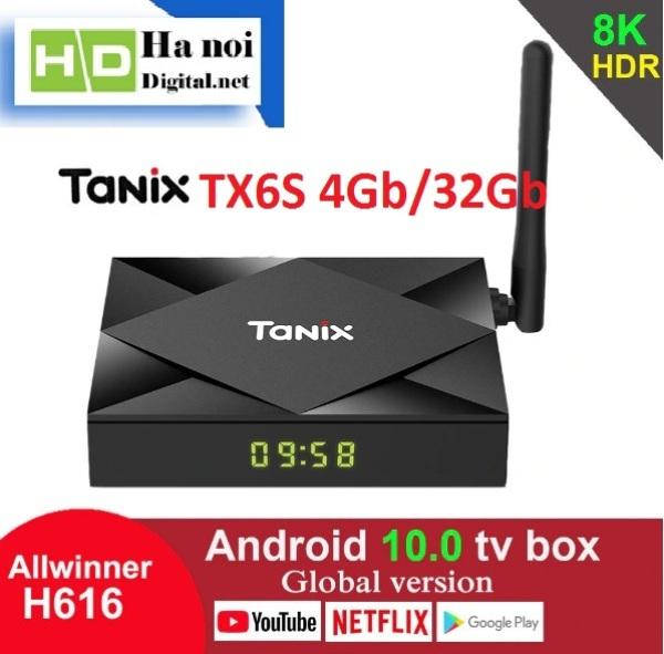 Android TV Box TX6 Ram 4Gb Rom 32Gb, Android 10 - Hàng Chính Hãng