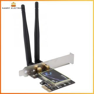 [Miễn Phí Vận Chuyển] SU-N600 Card Mạng Máy Tính Để Bàn Gigabit Ethernet 2.4 M PCI-E Băng Tần Kép 600G 5G [Đề Xuất Mua Trên 2 Cái] thumbnail
