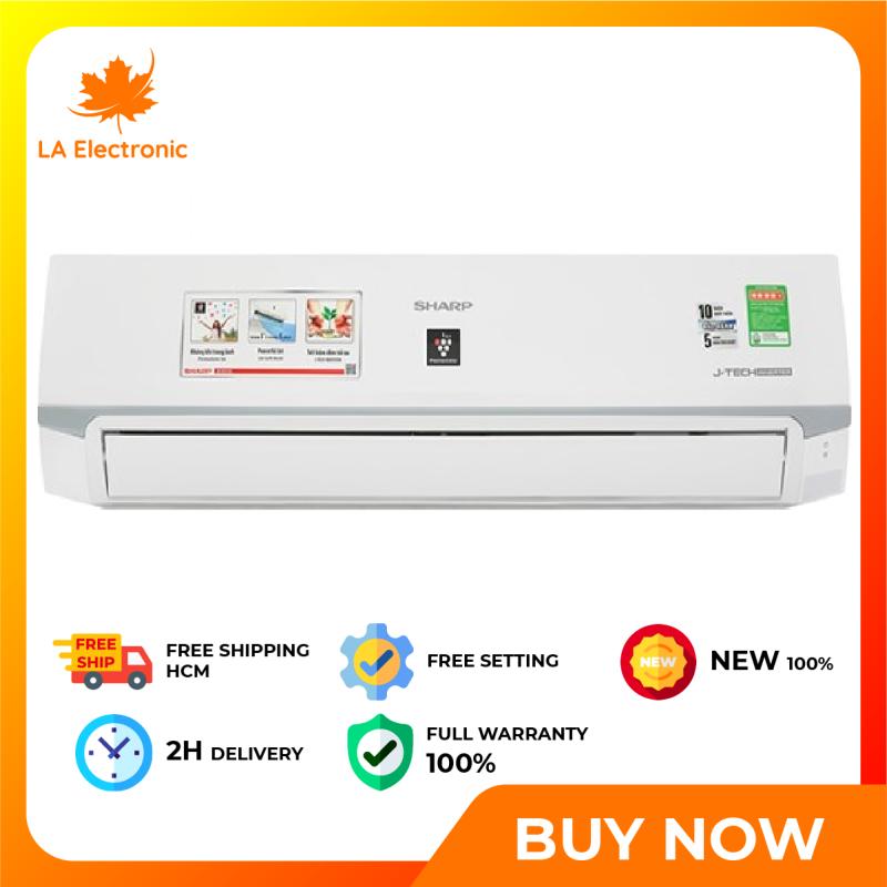 Trả Góp 0% - Máy lạnh Sharp Inverter 2 HP AH-XP18WMW - Miễn phí vận chuyển HCM