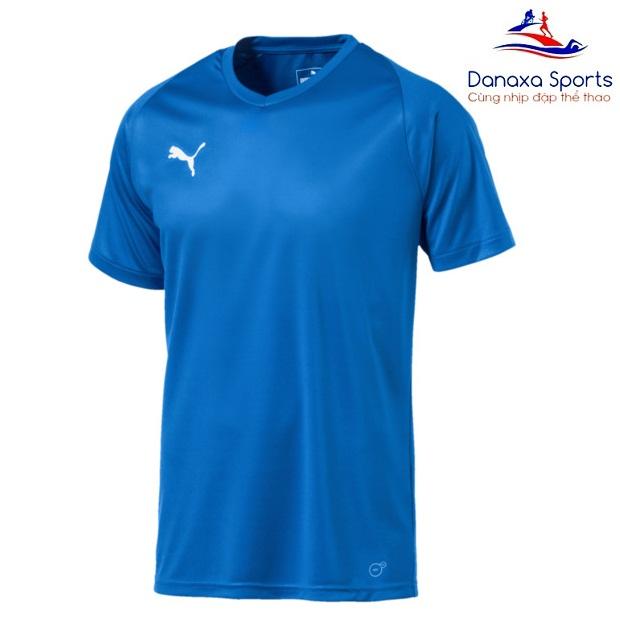 Giảm Giá Khi Mua cho Áo Thun Nam Puma Liga Core Jersey (màu Blue) - Hàng Chính Hiệu