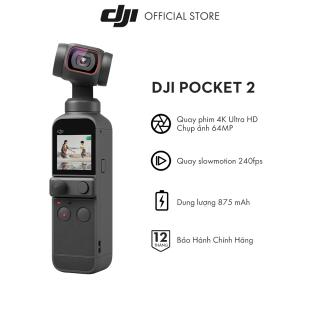 DJI Osmo Pocket 2 Máy quay phim Chống Rung 4K 60fps Hàng chính hãng Bảo hành 12 tháng 1 Đổi 1 thumbnail
