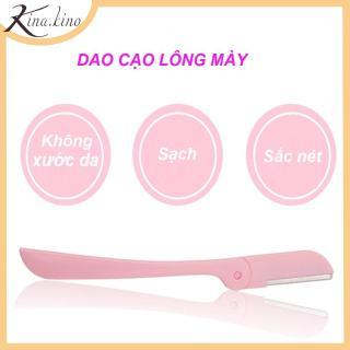 Dao cạo lông mày công nghệ mới không gây xước da - Cạo lông mày đẹp, điêu khắc chân mày - Dụng cụ trang điểm - Kina.Kino thumbnail