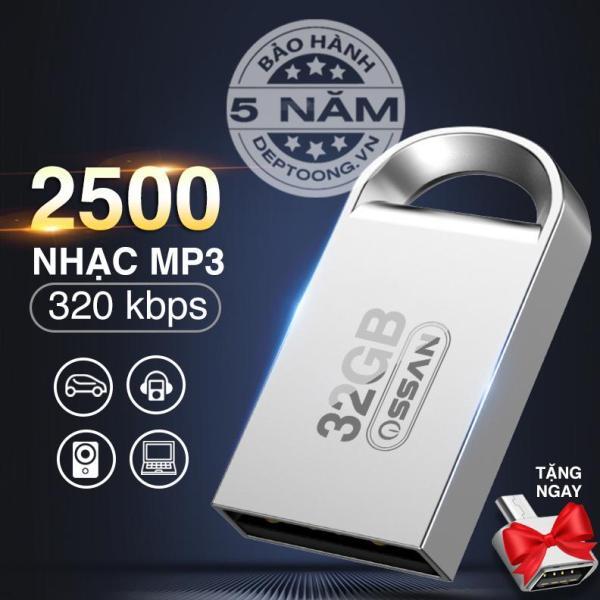 Giá USB 32GB sẵn 2500 bài nhạc MP3 / USB ô tô / USB ca nhạc nhiều thể loại - dùng để nghe trên ô tô hoặc điện thoại