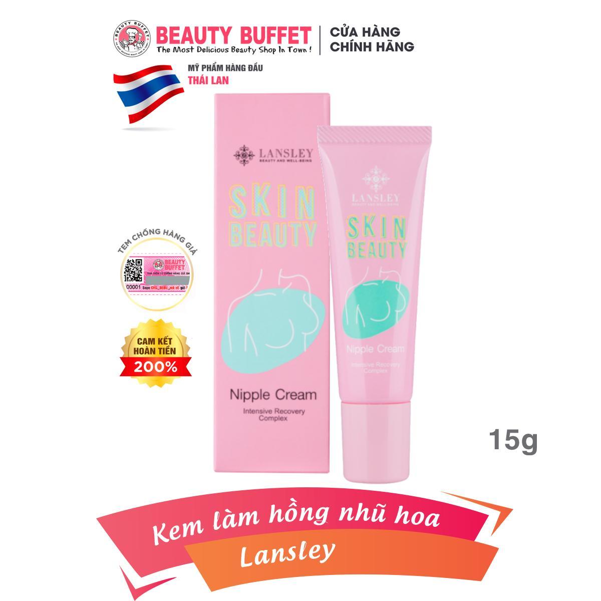 Kem làm hồng nhũ hoa Lansley Beauty Nipple Cream 15g nhập khẩu