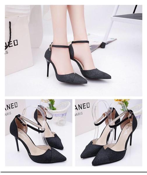 Giày Cao Gót Nhọn 8p Kim Tuyến giá rẻ