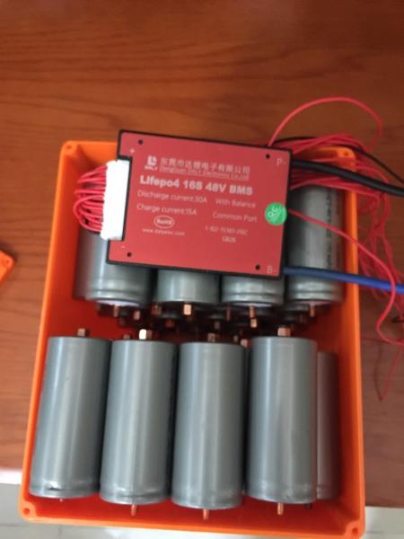 Vỏ Bình Xe Điện Lithium  EJ48-20B 36V 48V 20A