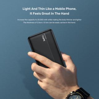 Sạc Dự Phòng Nhanh Thông Dụng TOPK I2015P 20000 MAh 18W QC3.0 Origional Ngân Hàng Điện Dành Cho iPhone Samsung OPPO VIVO HUAWEI XIAOMI - Phân phối bởi TOPK VIỆT NAM 6