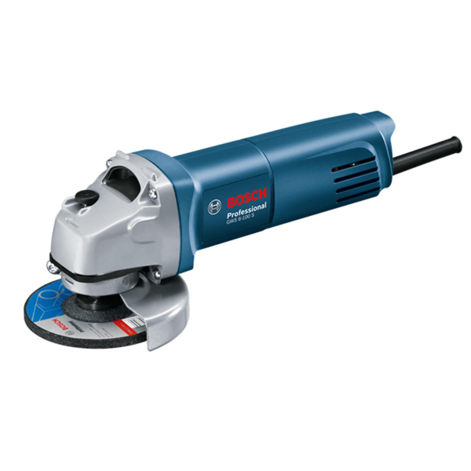 Máy Mài Cầm Tay Bosch GWS 6-100  - 670W - ABG Shop - Thiết Kế Bắt Mắt Chất Lượng, Hoàn Hảo, Phù Hợp Cho Thợ Chuyên Và Không Chuyên Bất Ngờ Giảm Giá