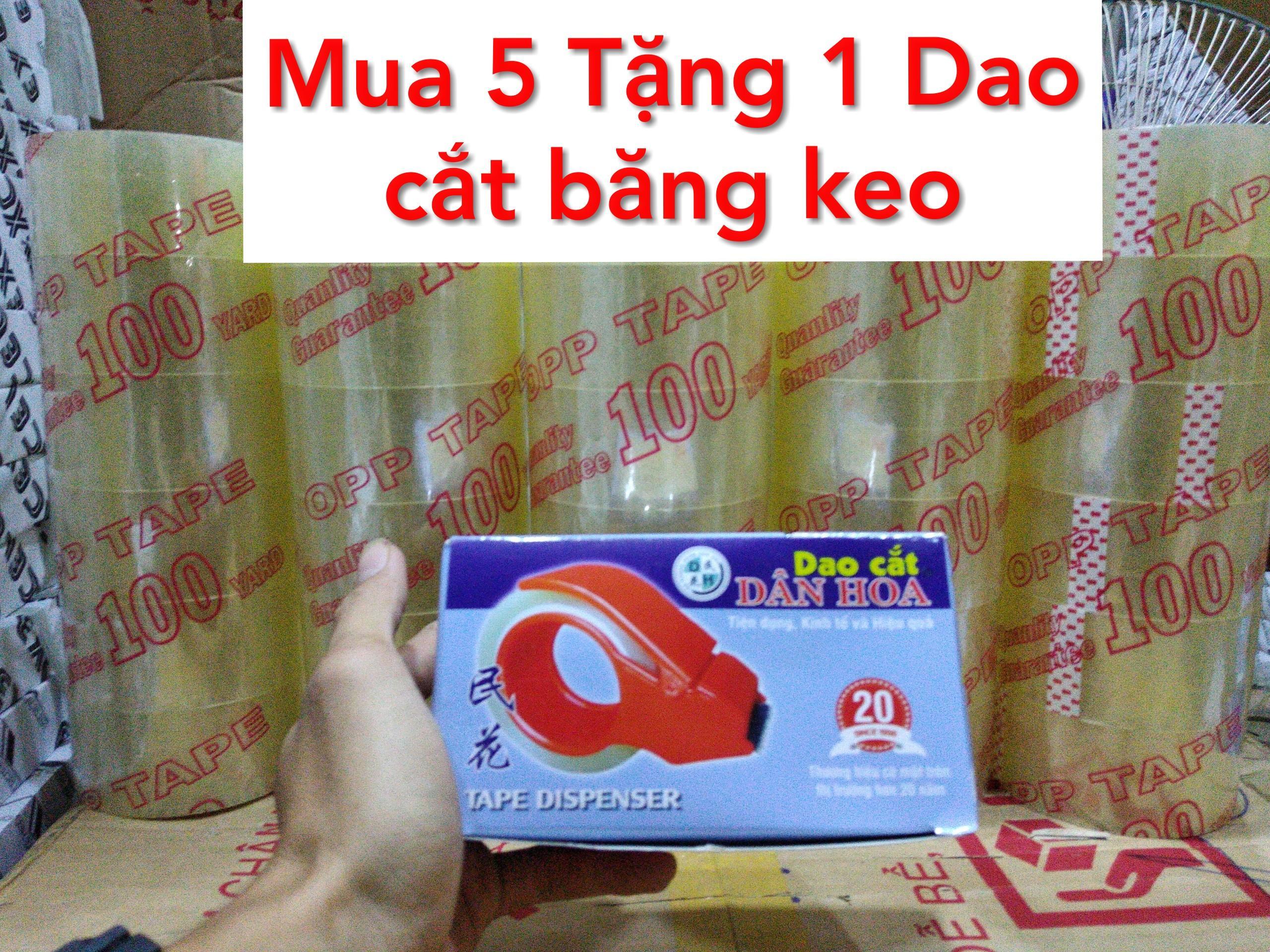 Mua Compo 6 Cuộn Băng Keo 100Yard - Gói Hàng - Văn Phòng Phẩm