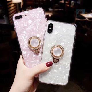 Ốp vân đá iring cao cấp cho iPhone 6 6s 6Plus 6sPlus 7 7Plus 8 8Plus X XS XR XS Max thumbnail