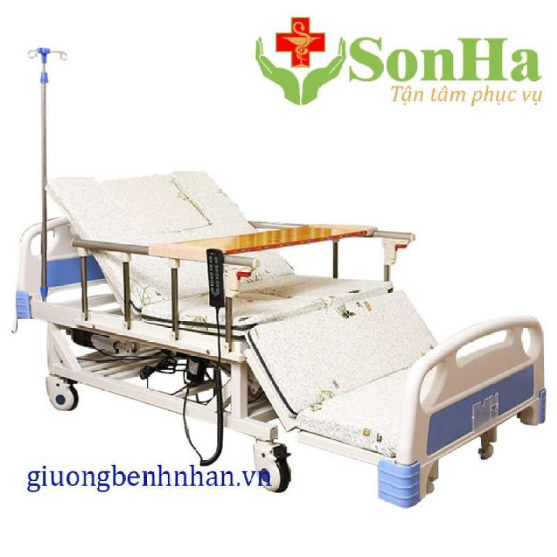 Giường bệnh nhân 10 chức năng chạy điện Lucass