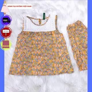 Đồ bộ TITIKIDS thoáng mát thích hợp cho các bé gái mặc tại nhà - Đồ bộ mùa hè cho bé - Đồ bộ thoáng mát cho bé mùa HÈ này