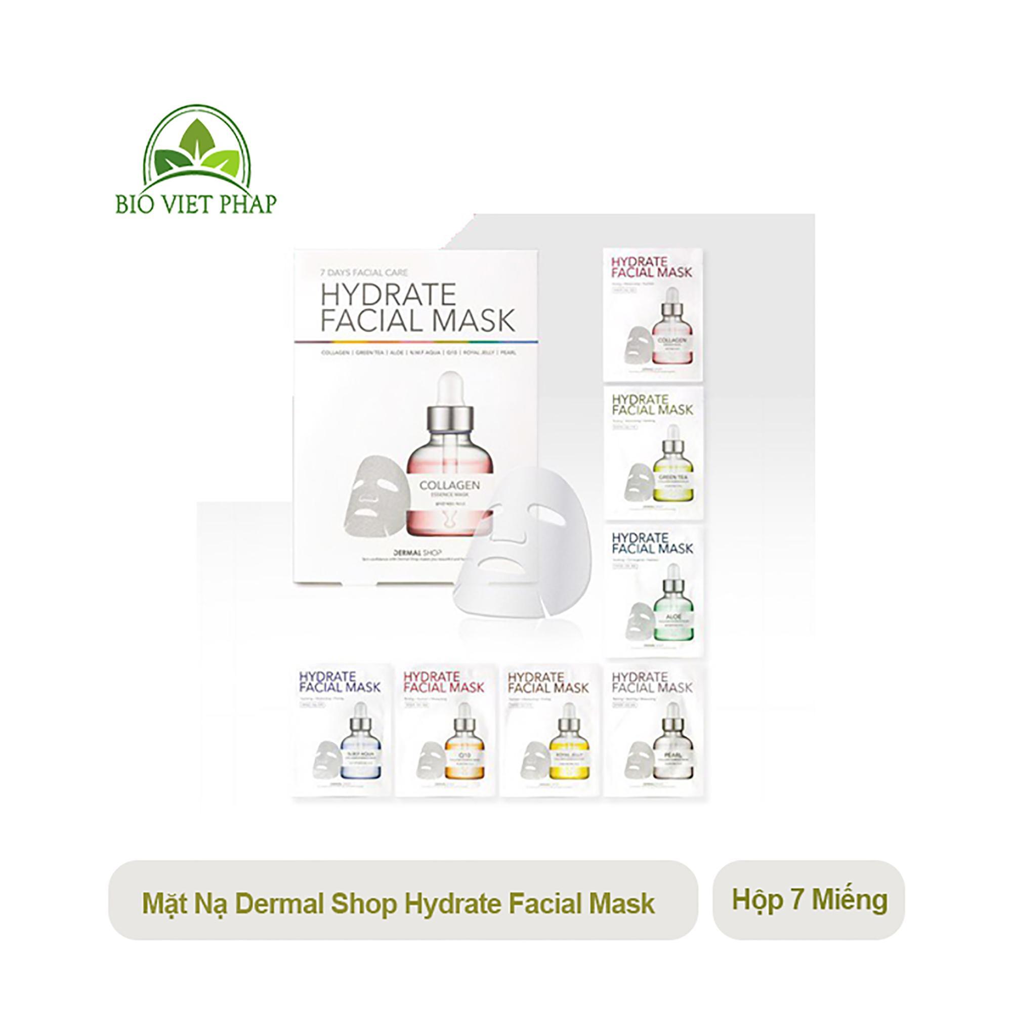 Mặt nạ dưỡng ẩm da COLLAGEN 7 NGÀY DERMAL HYDRATE FACIAL MASK