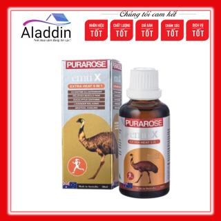 Dầu Xoa Bóp Đà Điểu - Purarose Emu X Extra Heat 5 in 1- 50ml thumbnail