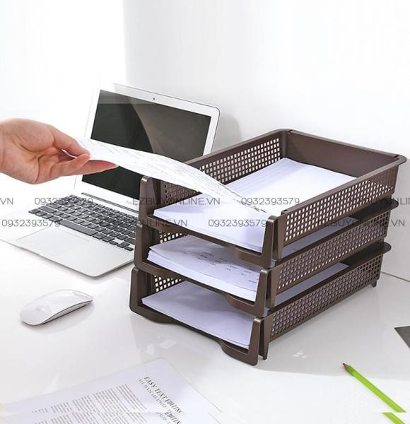 Mua Khay đựng tài liệu A4 (có thể xếp chồng) Hàng Nhật