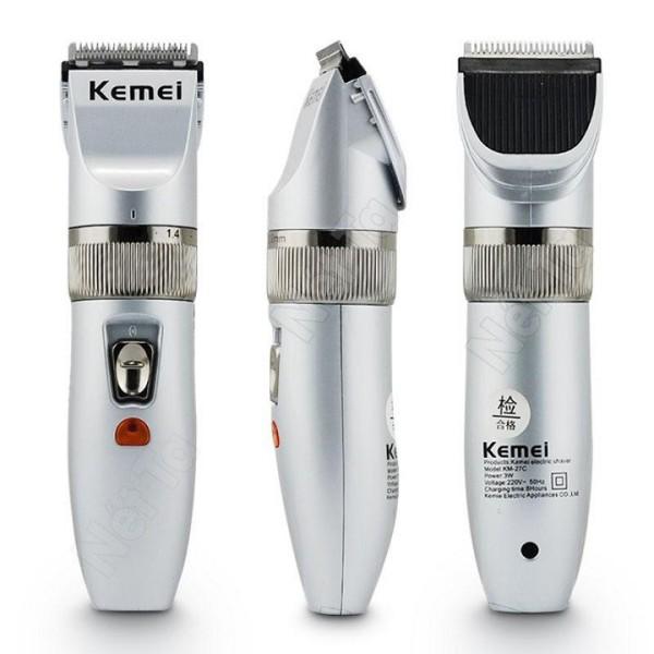 Tông đơ cắt tóc không dây KEMEI  - Nhỏ ngọn tiện lợi , chuyên tóc gia đình , tạo mẫu tóc cao cấp