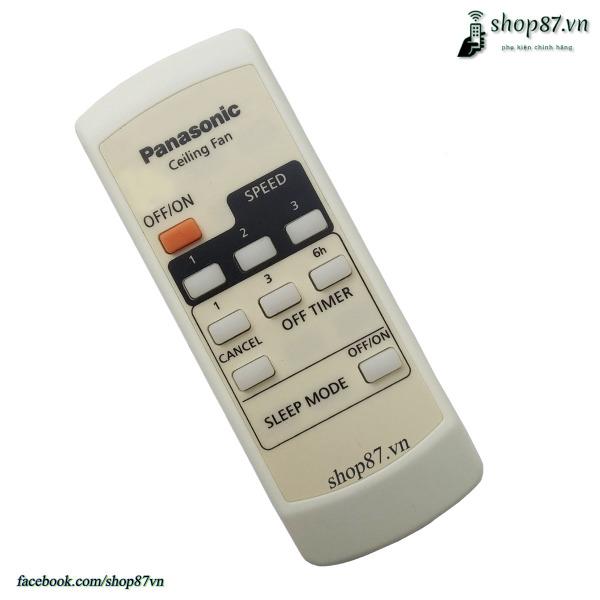 Bảng giá Remote điều khiển quạt trần Panasonic 4 cánh chính hãng