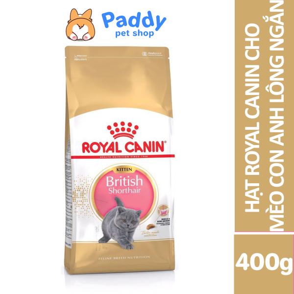 [400g] Hạt Royal Canin Kitten British Shorthair Cho Mèo Con Anh Lông Ngắn