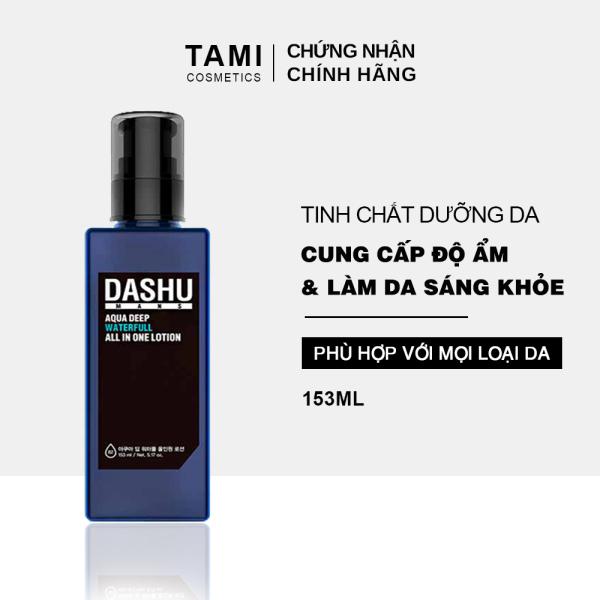 Tinh chất dưỡng da DASHU Mans Deep Waterfull All In One Lotion  kem dưỡng da cho nam cấp ẩm làm sáng da TM-TC01 nhập khẩu