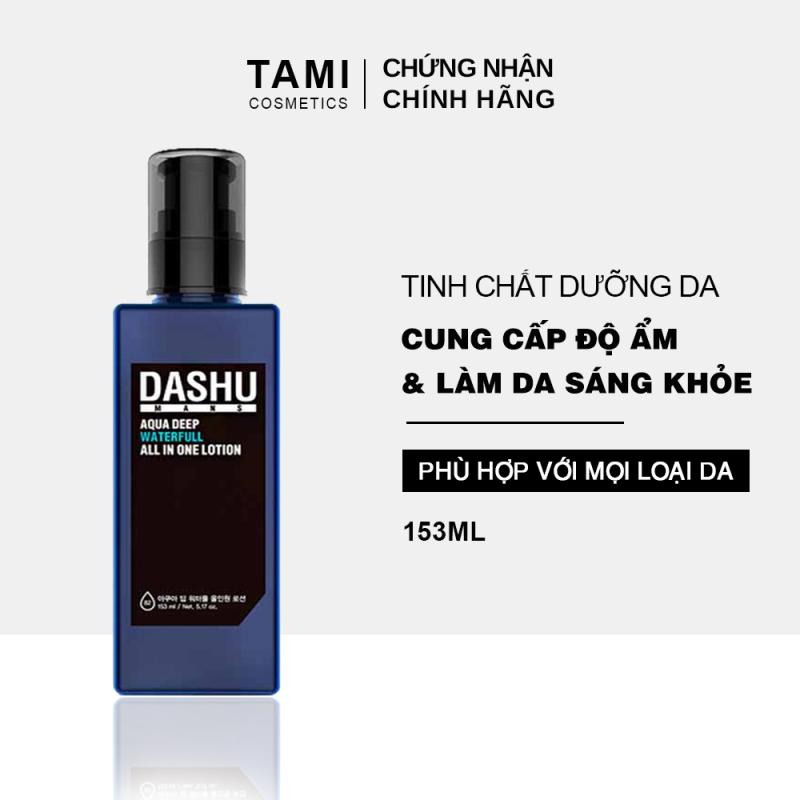 Tinh chất dưỡng da DASHU Mans Deep Waterfull All In One Lotion  kem dưỡng da cho nam cấp ẩm làm sáng da TM-TC01