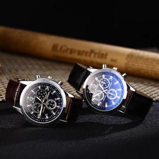 Đồng hồ thời trang nam McyKey dây da giả 6 kim MS775 thumbnail