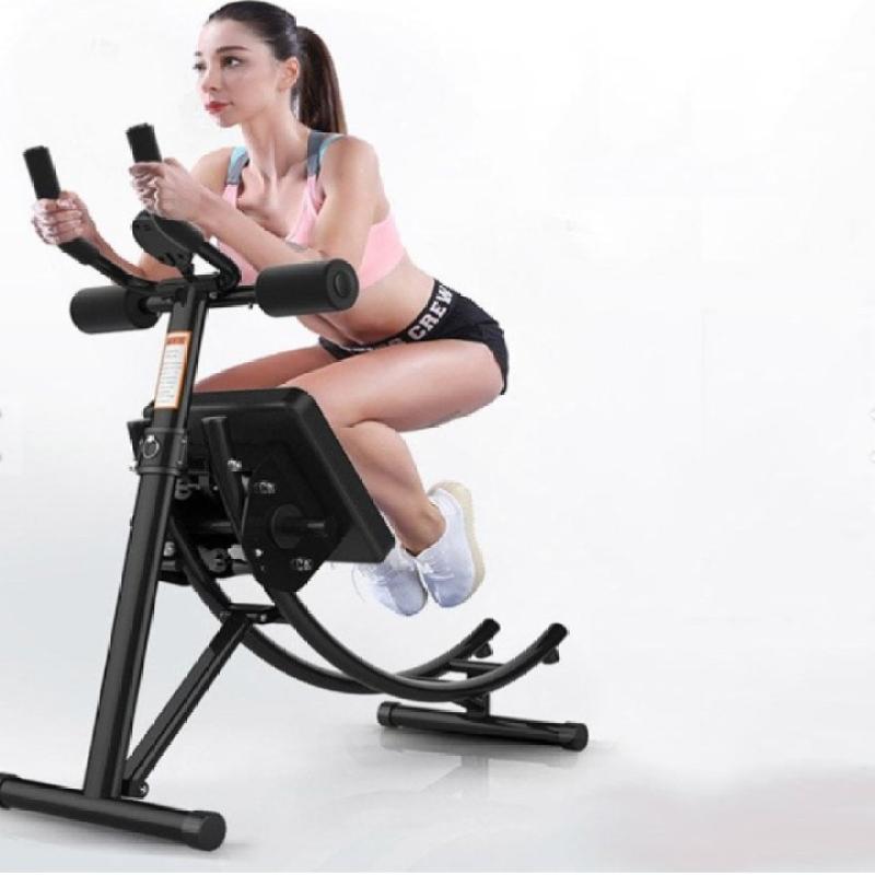 Máy tập bụng, Dụng cụ tập thể dục đa năng, dụng cụ tập Gym tại nhà Air Bike - Chất liệu thép chịu lực cao