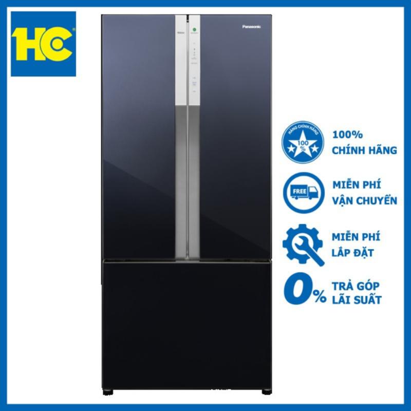Tủ lạnh Panasonic Inverter 494 lít NR-CY550QKVN Đen