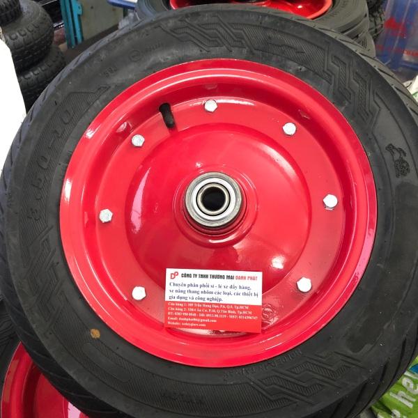 Bánh xe đẩy hàng hơi 350-10
