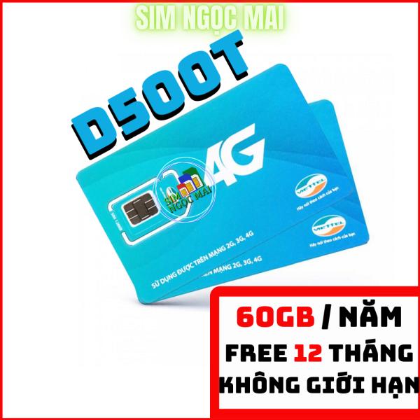 Sim 4G Viettel D500 Trọn Gói 12 Tháng ( 4Gb/Tháng ) - Sim D500 Viettel