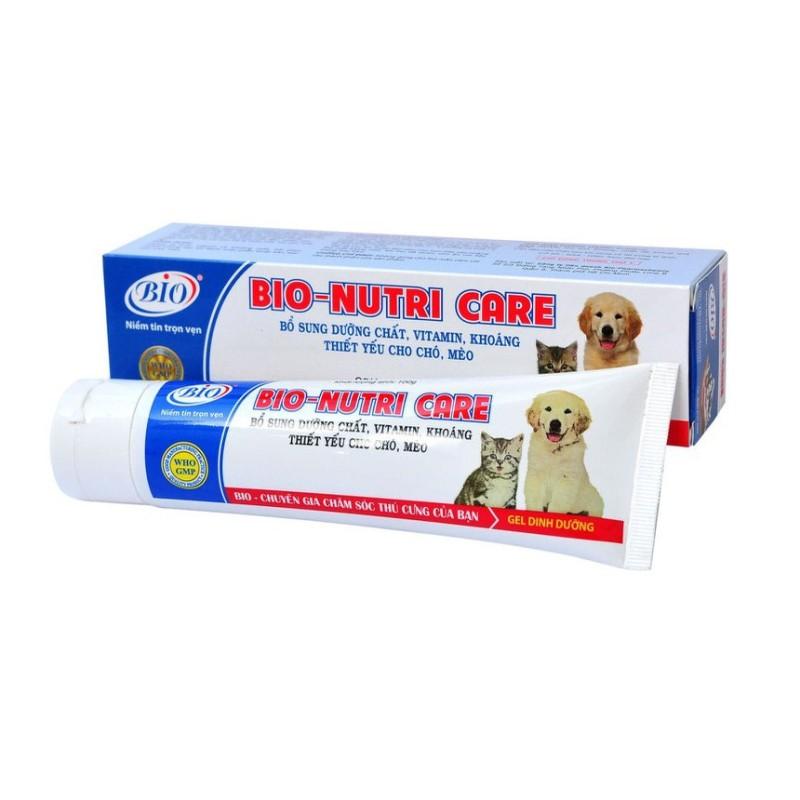 Gel ăn dinh dưỡng cho chó mèo - Bio Nutri Care 100g
